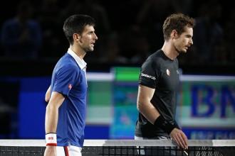 Final of the BNP Paris masters (ATP-1000) between number one seed Novak Djokovic en number two seed Andy Murray.