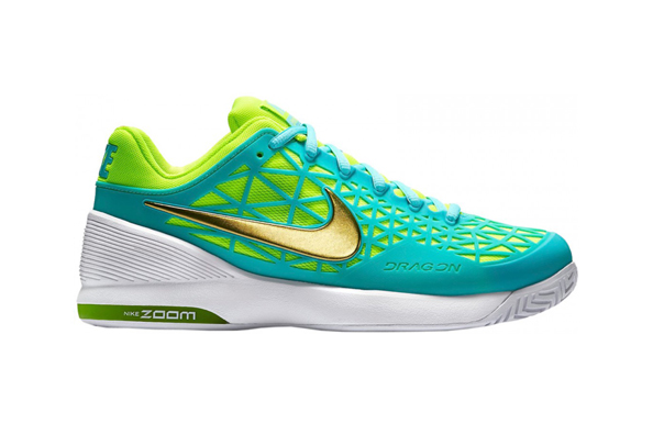 Nike zoom cage women's (mint/fluor yellow)