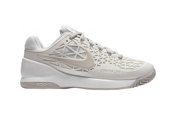 Nike zoom cage men's (white/beige)