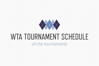 WTA calendar 2016