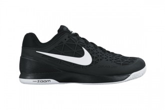 Tennis shoe Nike zoom cage in all black combination
