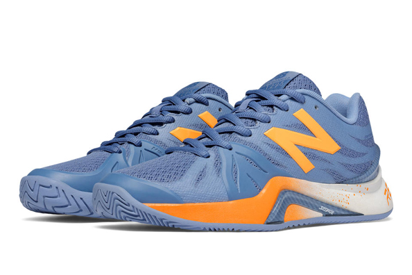 New Balance 1296 women's tennis shoes front view