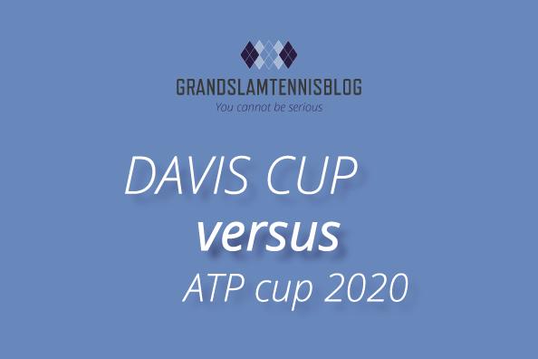 De vernieuwde Davis tegen over de nieuwe ATP cup...