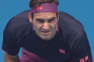 Federer te sterk in eerste ronde Australian open 2020 voor Steve Johnson.