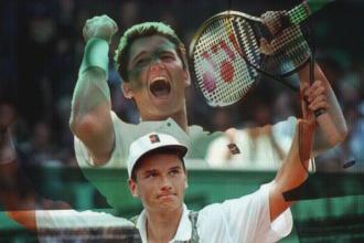 Richard wint Wimbledon 1996 het grootste succes in de historie van het Nederlandse mannentennis.