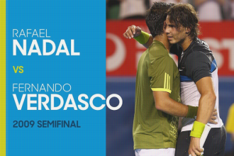 Video van Nadal - Verdasco in 2009 Australian open.