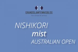 Nishikori is afwezig tijdens Australian open 2020.