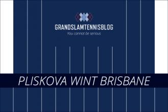 Nummer twee van de wereld Plsikova wint finale Brisbane.