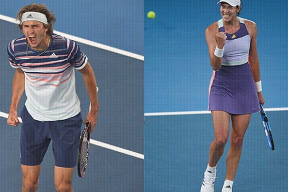 Novak Djokovic, Roger Federer, Alexander Zverev plus Halep, Muguruza, Kening en Barty bereiken de halve finale op de #AO2020.
