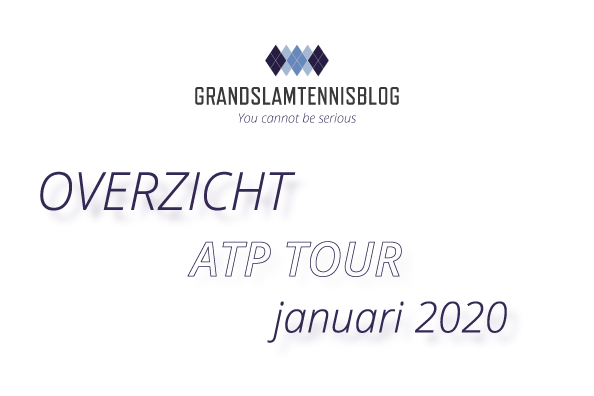 Overzicht ATP tour januari 2020.