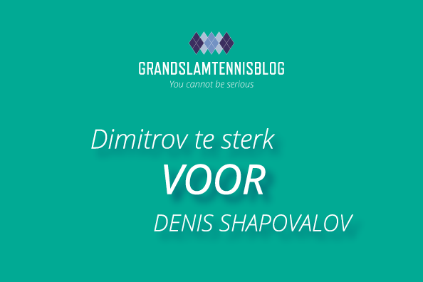 Grigor Dimitrov verslaat Denis Shapovalov in twee sets op ABN AMRO WTT tournament.