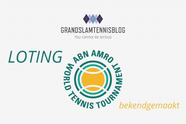 De loting van de 2020 versie van het ABN AMRO tennis toernooi is weer bekend.