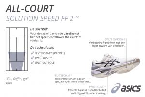 ASICS solution speed FF2 heren